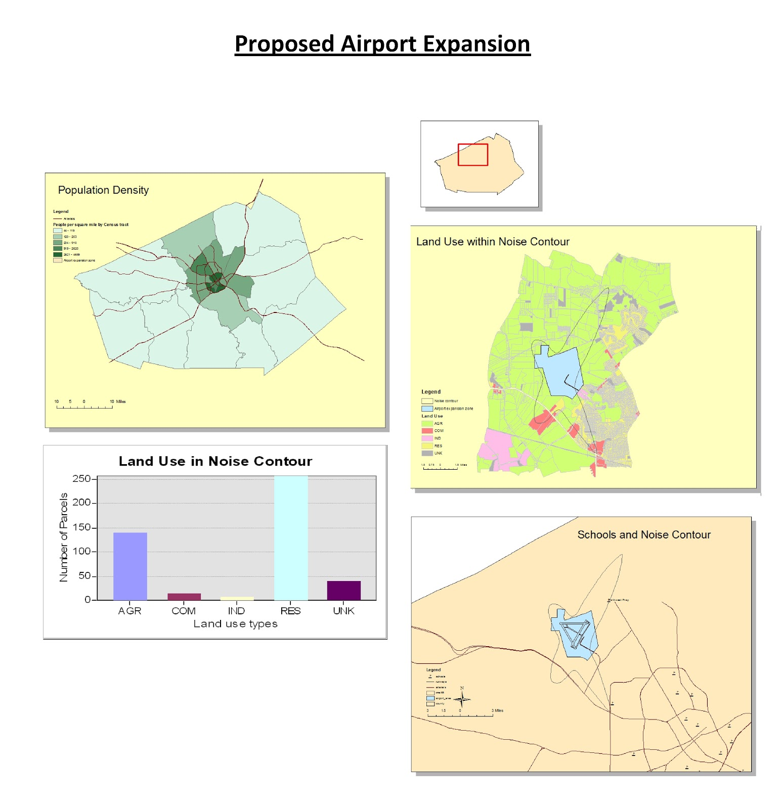 in this weeks lab we used the program arcgis 10 1 in order to complete a number of tasks using arcgis we mapped out the noise pollution caused by a