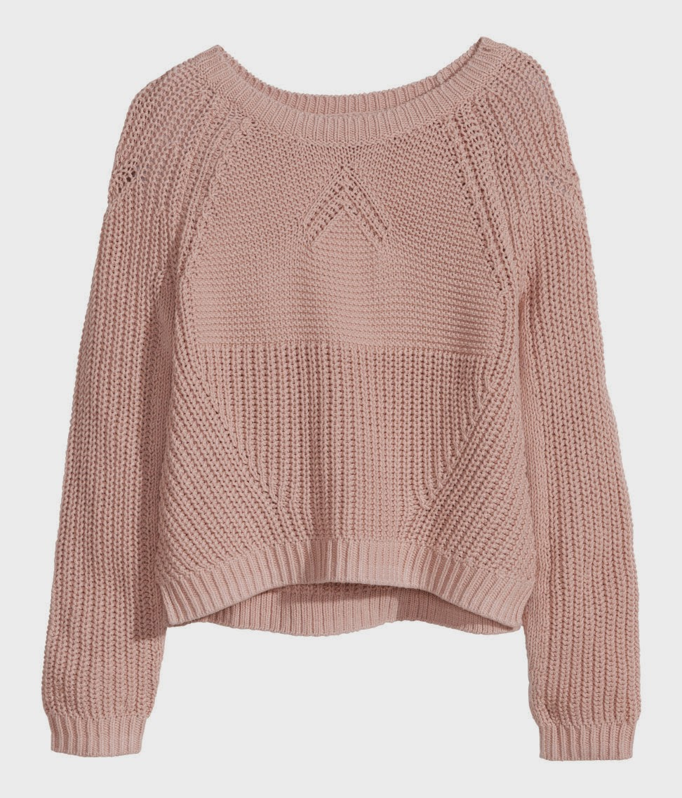 light pink jumper
