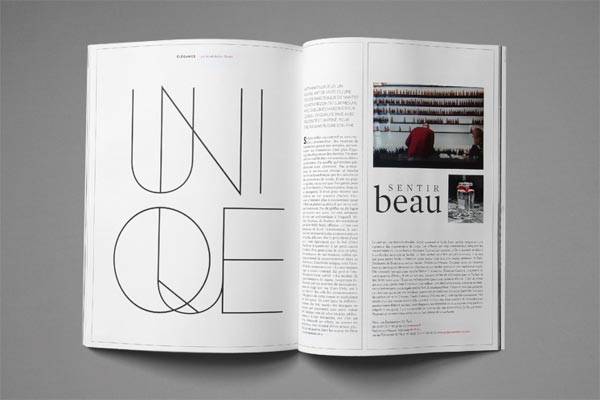 30 stylish examples of layouts in magazine design jayce Modern design magazine