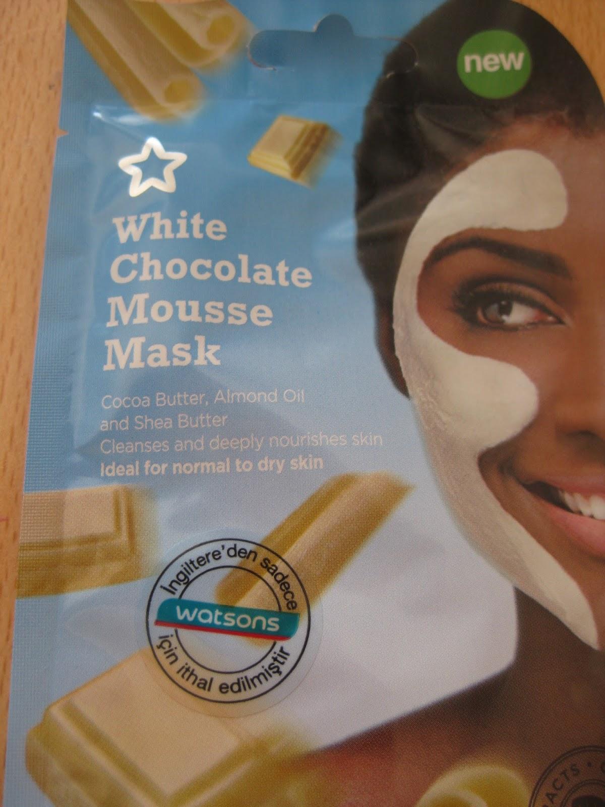 Çikolatalı Yüz Maskesi