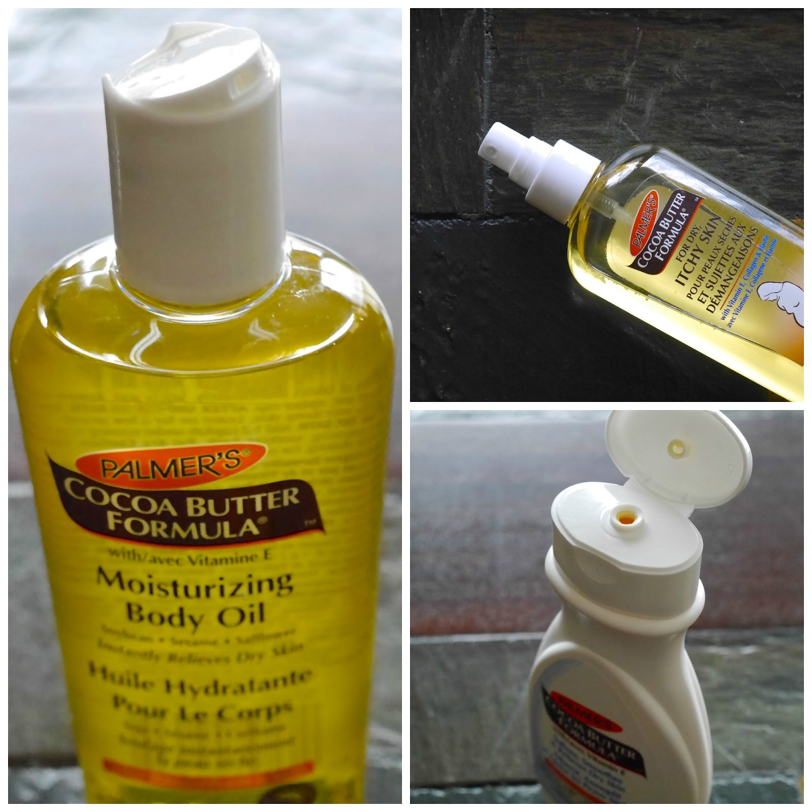 Palmer's Cocoa Butter Formula Soothing Oil for Dry, Itchy Skin*, Moisturizing Body Oil* and Cocoa Butter Lotion*