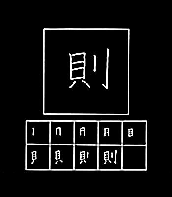 kanji peraturan