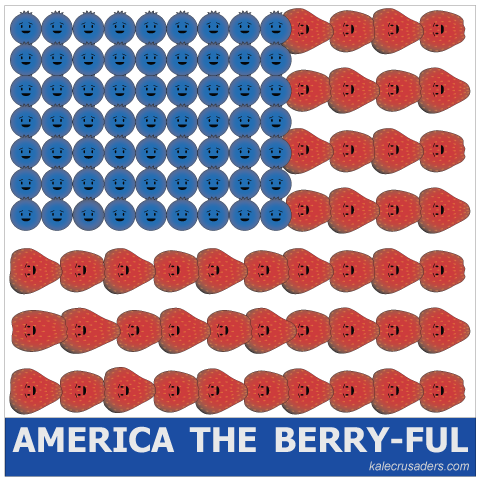 America the berry-ful