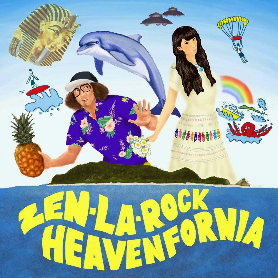 HEAVEN FORNIA EP / ZEN-LA-ROCK