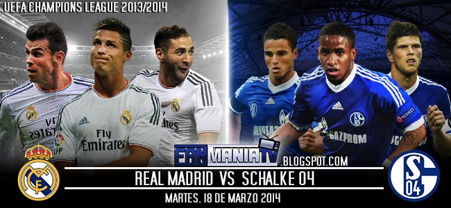 UEFA CHAMPIONS LEAGUE: REAL MADRID VS SCHALKE 04