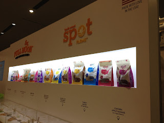 Spot Farms chicken treats for dogs at Global Pet Expo in Orlando.