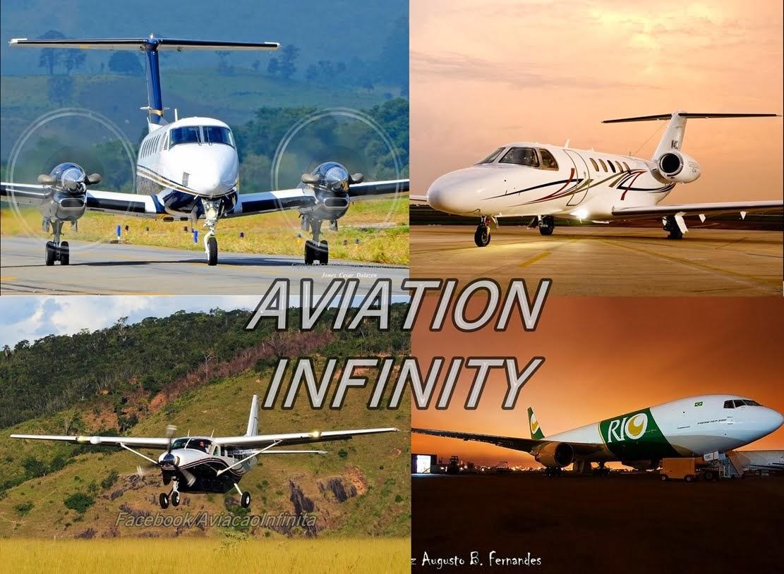 Curtam aviação infinita