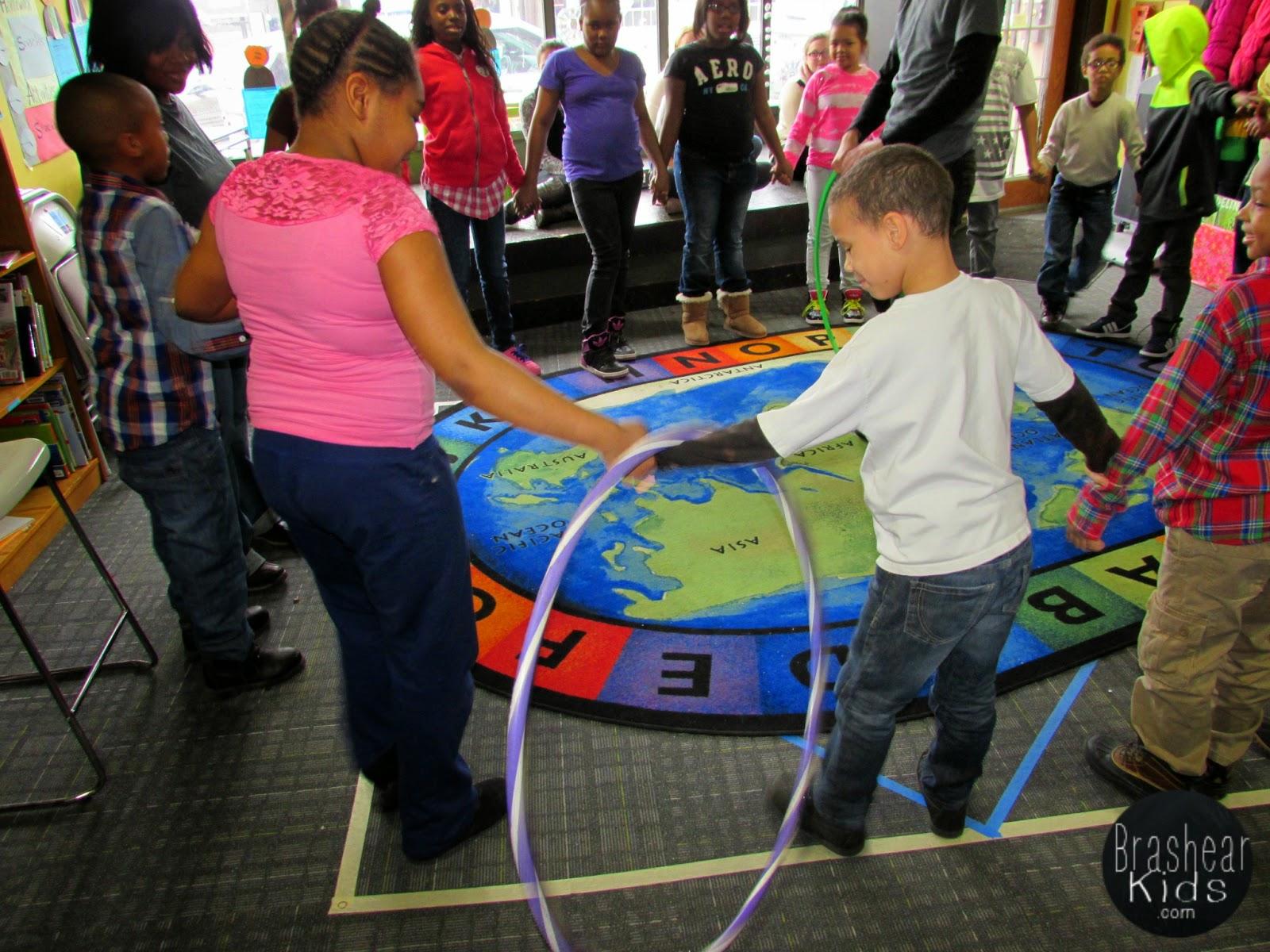 The Brashear Kids: Three Teamwork Games