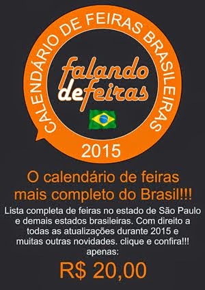 Calendário de Feiras Brasileiras 2015