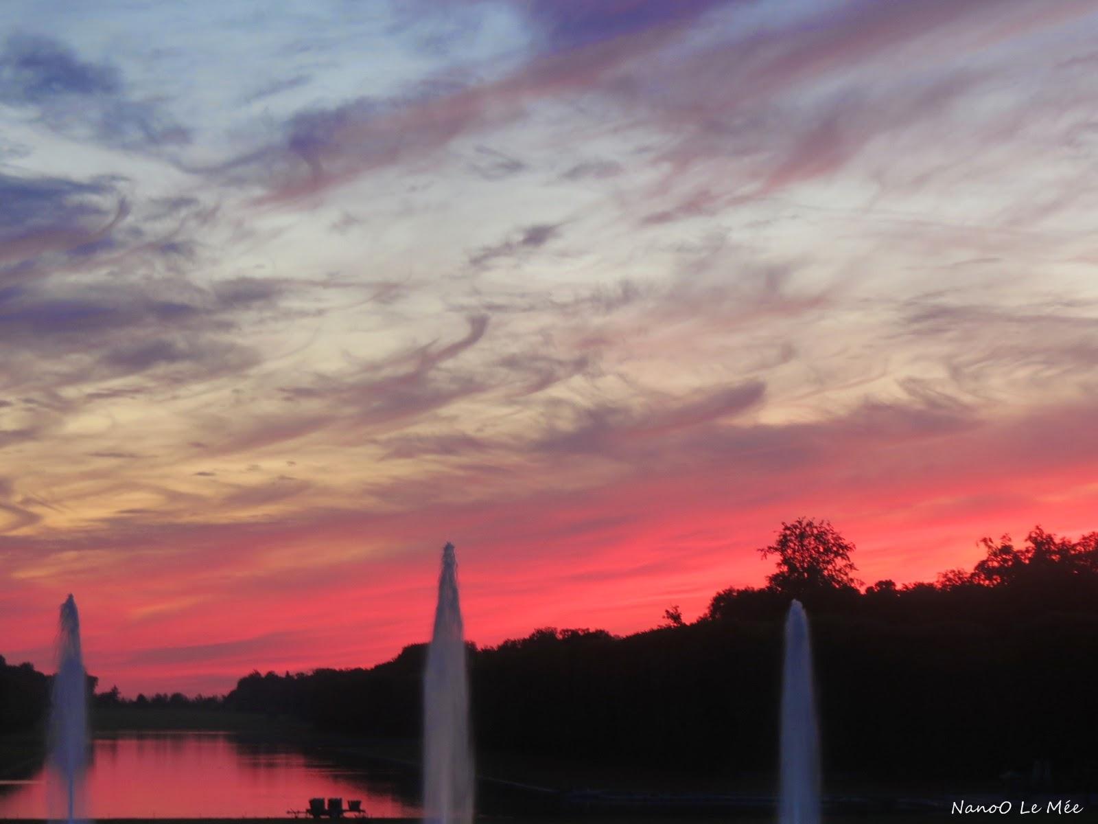 Grandes eaux nocturnes - Versailles