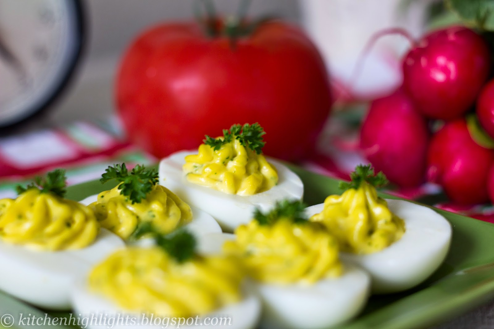 Deviled eggs are a classic and traditional favorite in both American and European cultures.