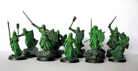 Figurki wojowników umarłych Władca Pierścieni