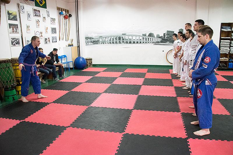 Gracie Barra Srbija - humanitarni trening
