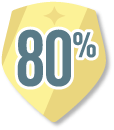 80% or More Feedback Provided on NetGalley