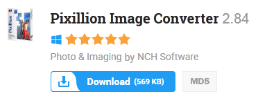 Free Pixillion Image Converter 2.84 Latest 2015