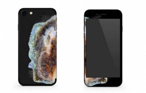 Capinha transforma iPhone em -Galaxy Note 7 explodido-