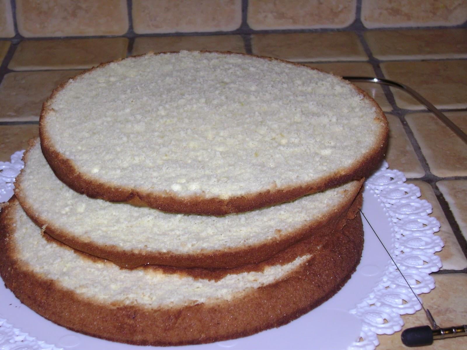 Un mondo di dolci idee: Torta farcita con crema al cocco e crema ...