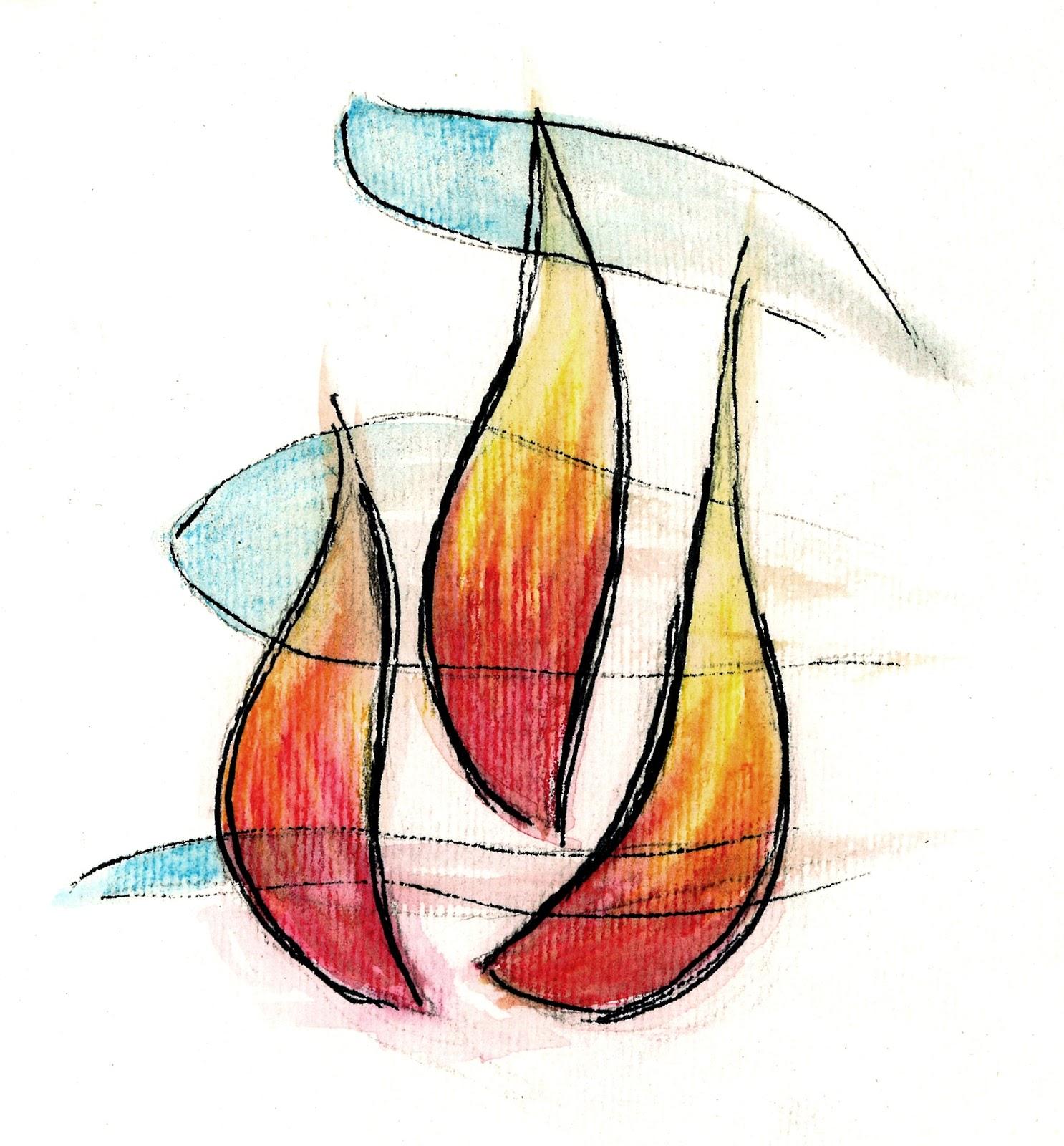 Amato Fiamma dello Spirito Santo (disegno)   Tu 6 Bellezza! EF28