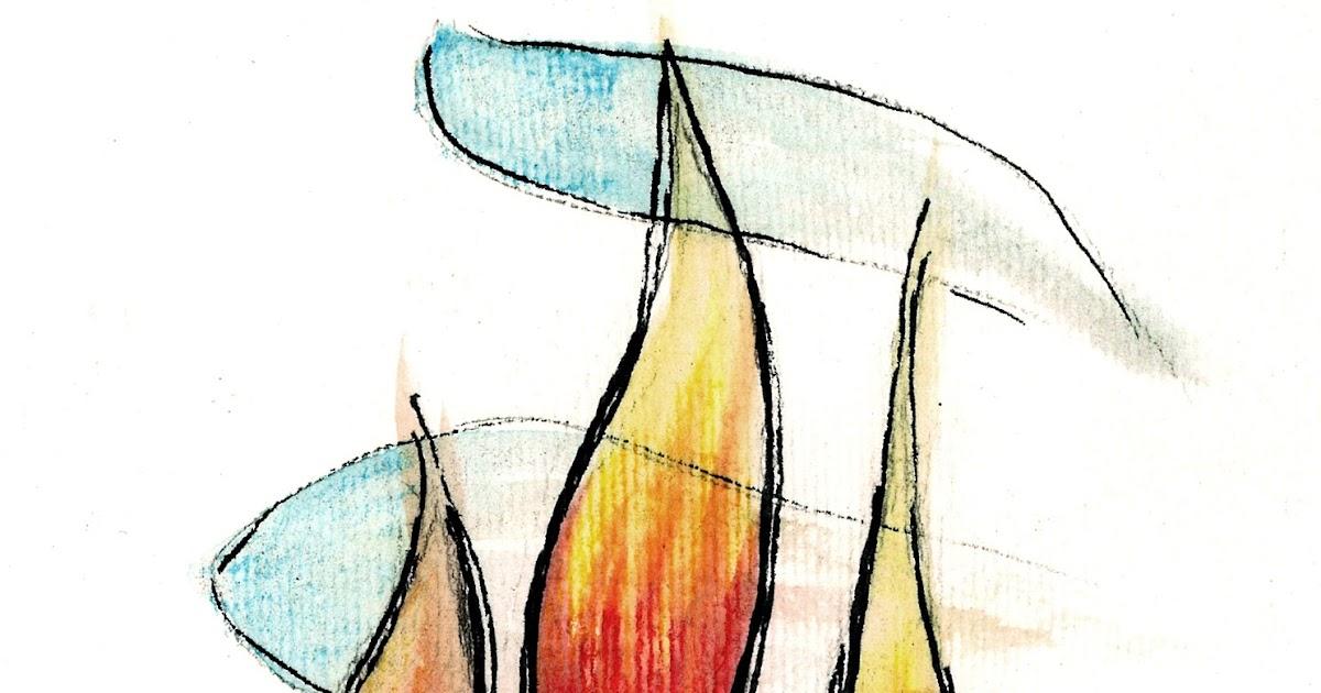 Favorito Fiamma dello Spirito Santo (disegno)   Tu 6 Bellezza! MA16