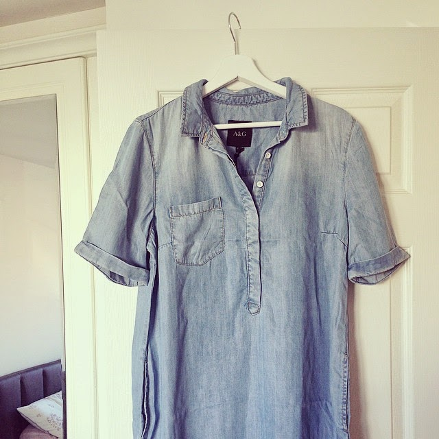 denim dress trend summer