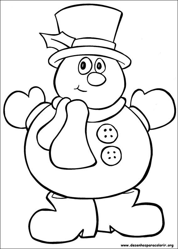 Desenho como desenhar Simbolos de natal e colorir