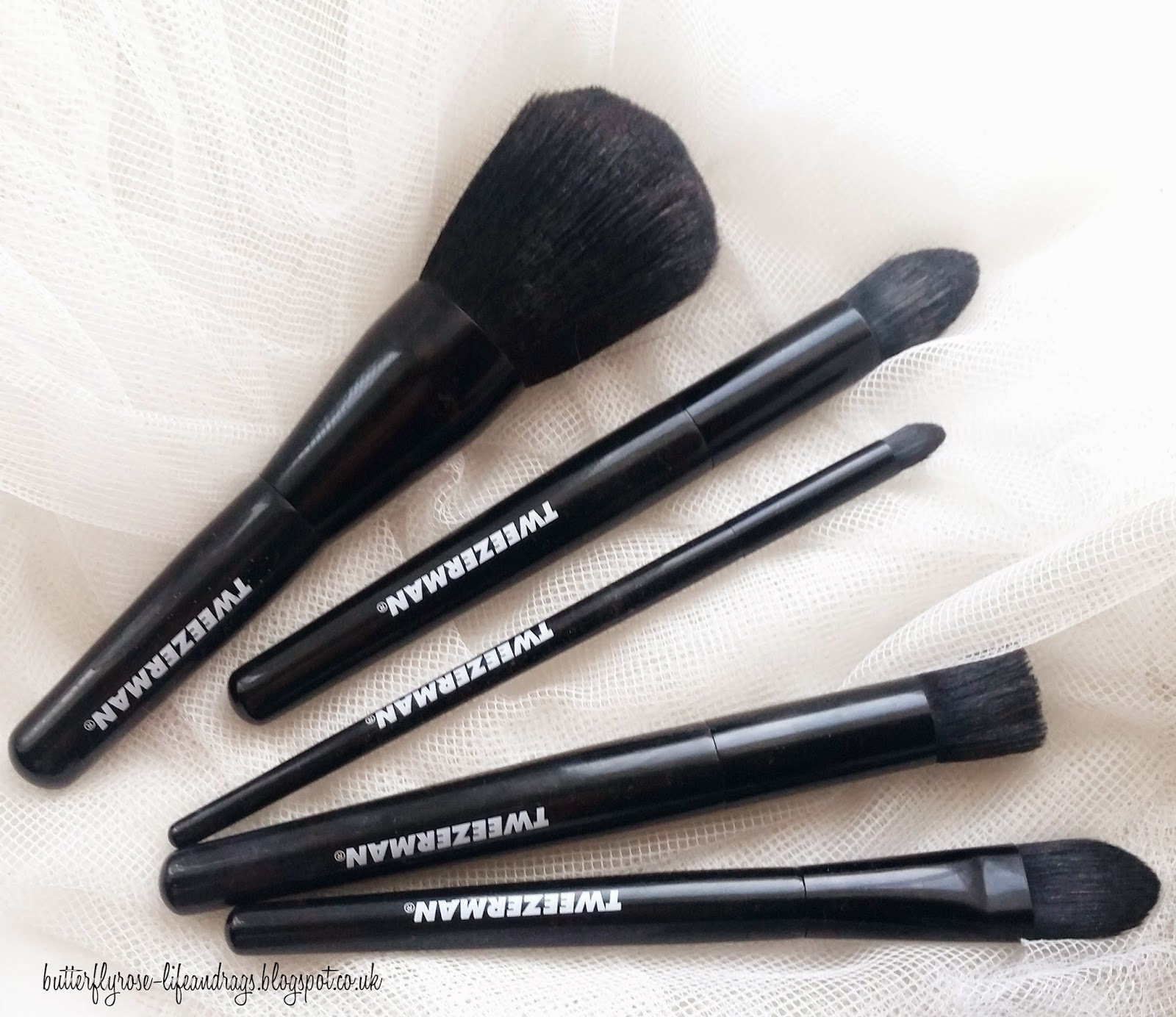 Tweezerman Makeup Brushes