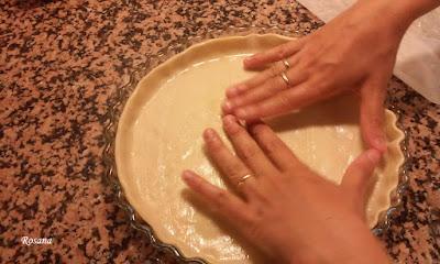 ajustamos la masa al molde