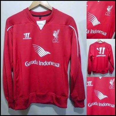 Sweater GO Liverpool Training Merah
