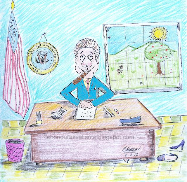 Felatio al Presidente de los Estados Unidos
