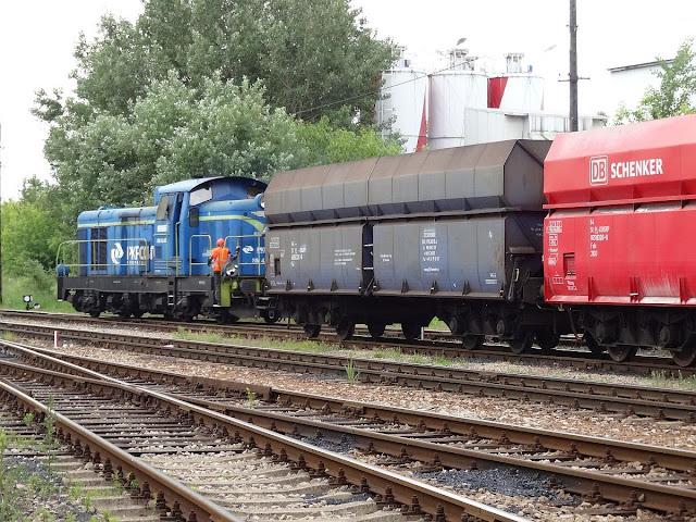 Talboty na bocznicy kolejowej do PGNIG Termika Żerań