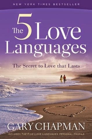 """book cover """"The 5 Love Languages"""" by Gary Chapman"""