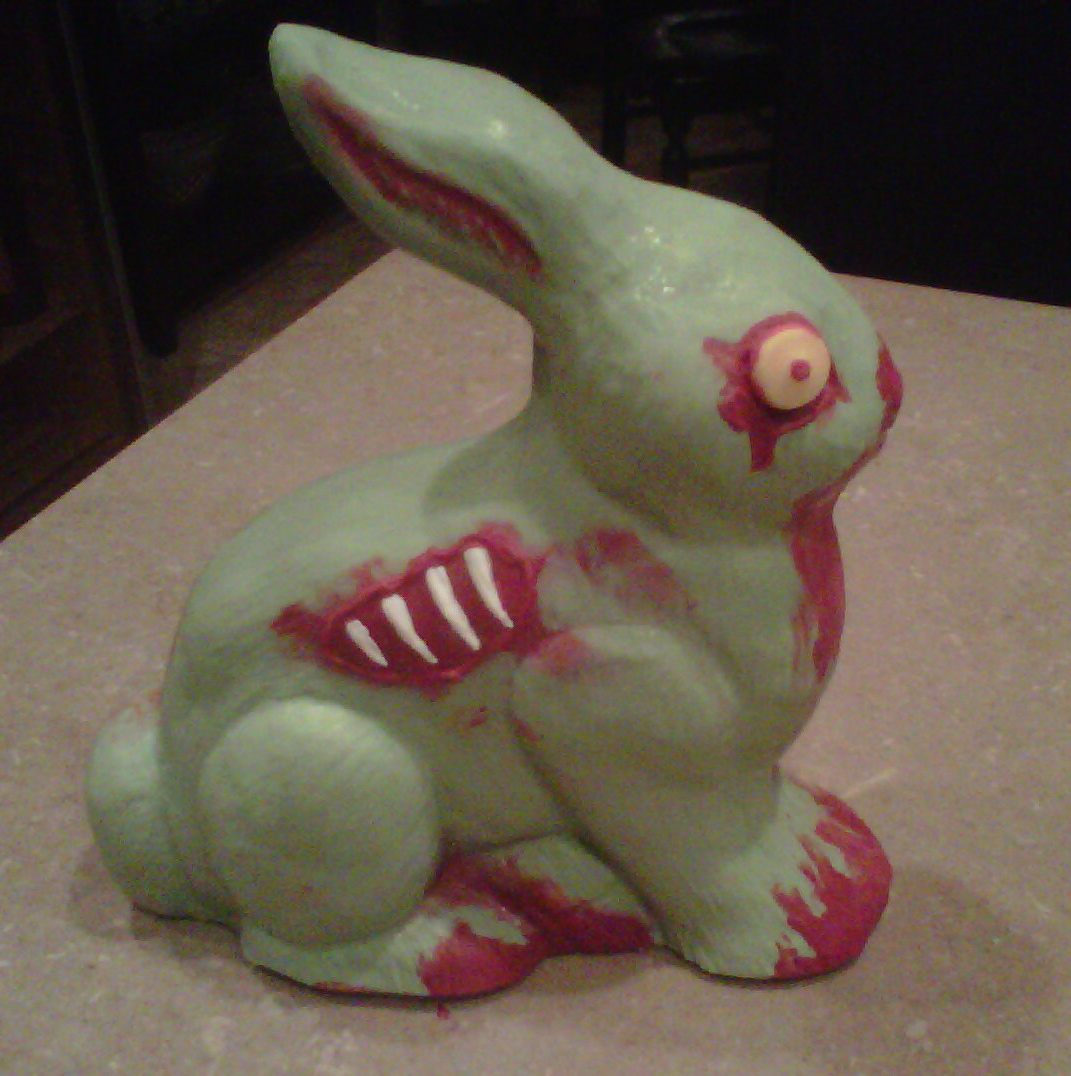 102 Wicked Things To Do 22 Zombie Bunny