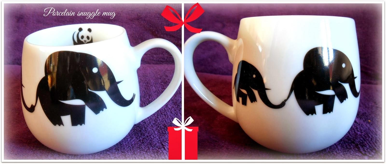 WWF Elephant Snuggle Mug
