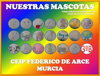 MASCOTAS DE 3ºB