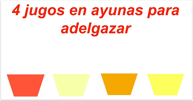 Jugos-Ayunas-Adelgazar