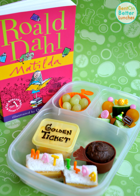 Roald Dahl Day bento lunch