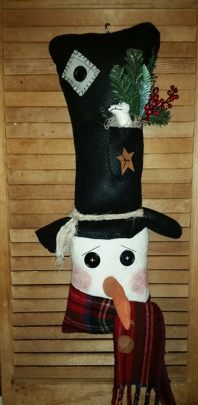 LARGE SNOWMAN HEAD DOOR GREETER