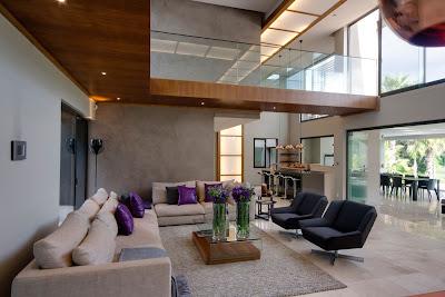 diseño sala grande muy moderna