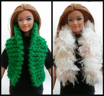 knit outdoor vest for barbie-free pattern