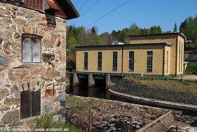 Mark, Marks kommun, kraftverk, Kinnaström, Kinna, Viskan, elkraftverk, vattenkraft