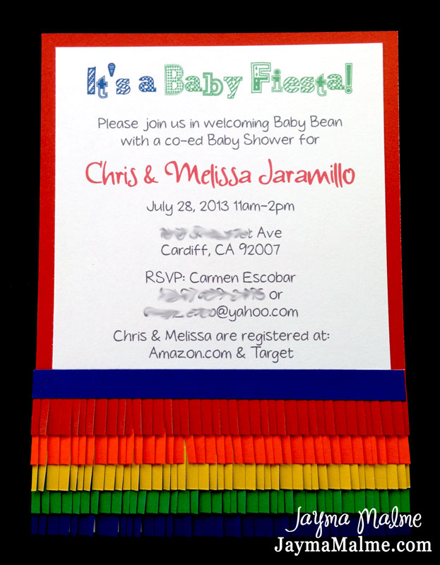 Playing with Paper: Scrapbooks, Cards & DIY: Fiesta Baby Shower ...