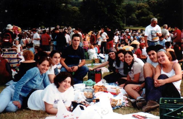 fiesta carmin 2002 pola de siero asturias prao merienda sidra