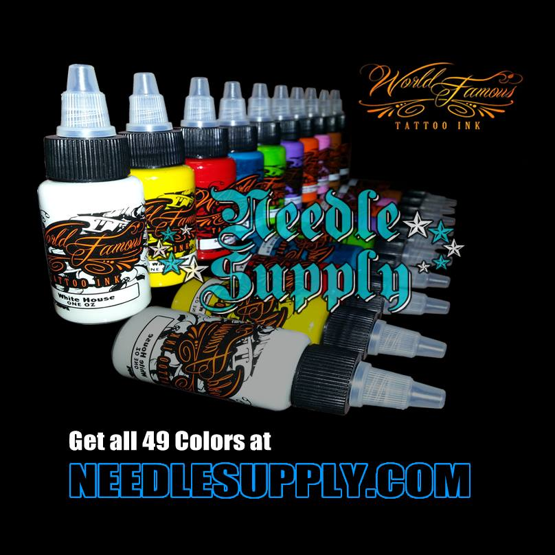 Needle supply tattoo supplies blog world famous tattoo ink for World wide tattoo supply