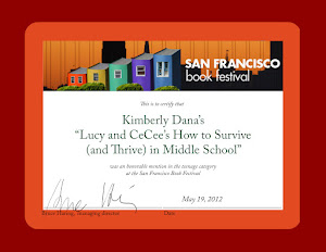 Lucy and CeCee Awarded by San Francisco Festival of Books