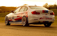 BMW 335i Production Race Saloon 2012 Rear Side