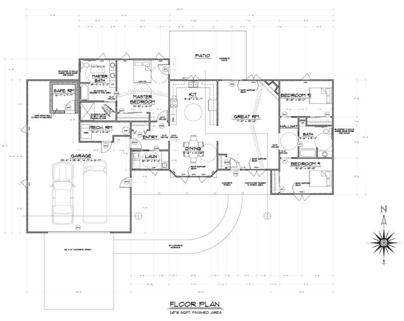 Barrier free house plans numberedtype Free home plans