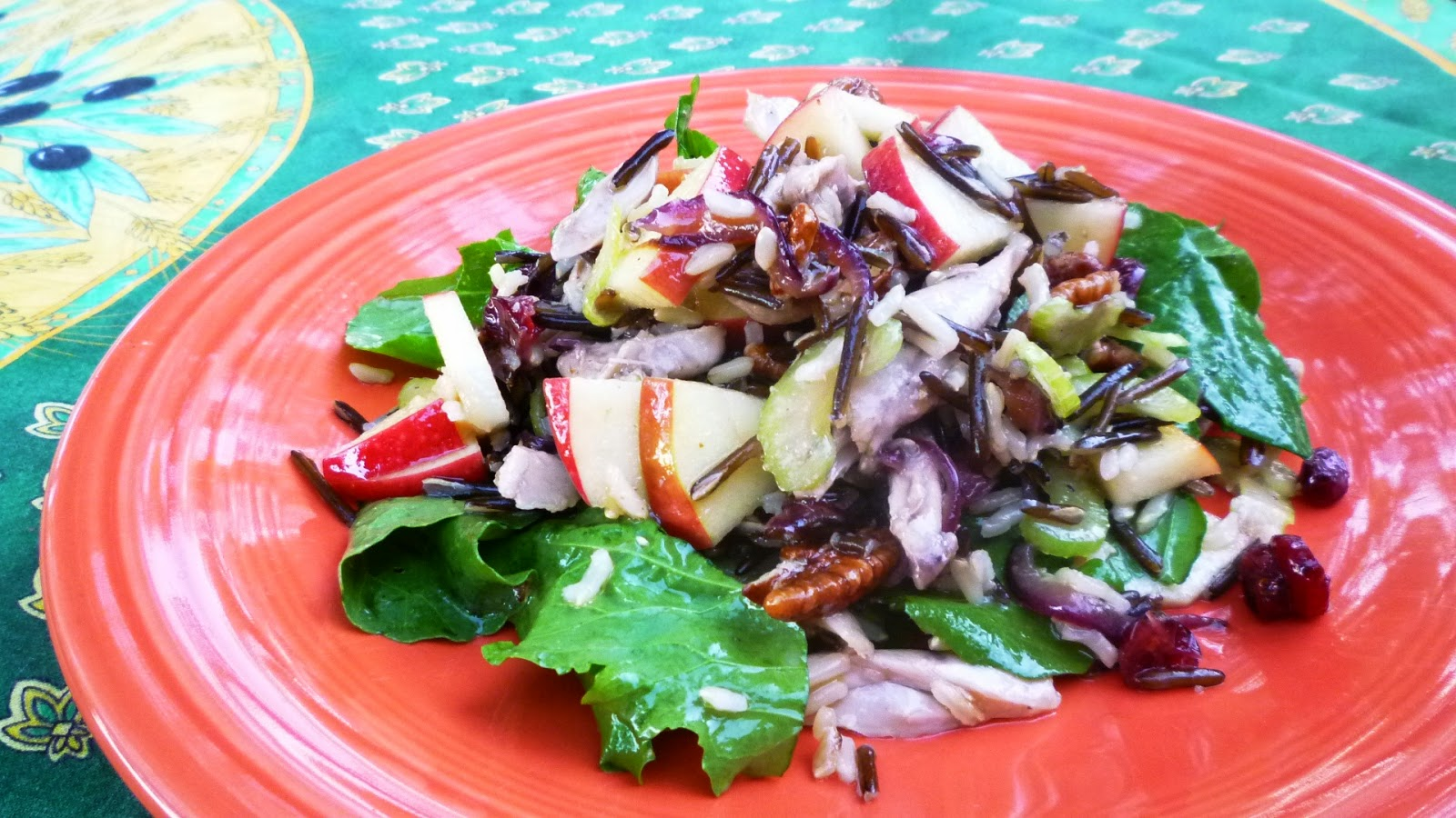 ... salad showcases many of apple wild rice salad wild rice cranberry