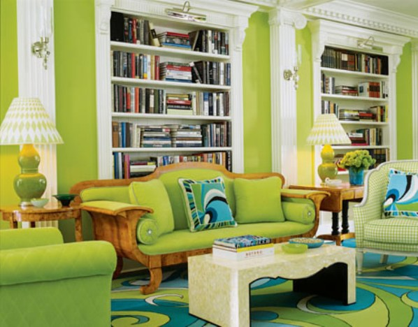 Eclectic Green Interior Design Styles Archideas