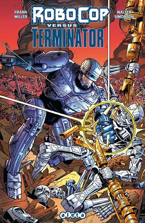 Robocop vs. Terminator Aleta Ediciones