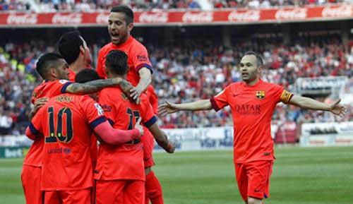 Sevilla 2-2 Barca